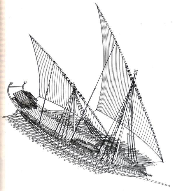 Byzantinische Dromone 10-Jhdt