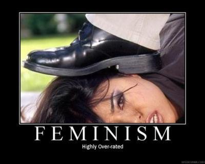 Feminismus stark überbewertet