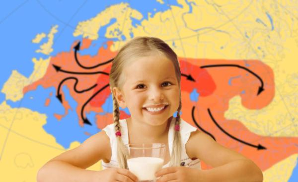 Laktose und Indoeuropäer