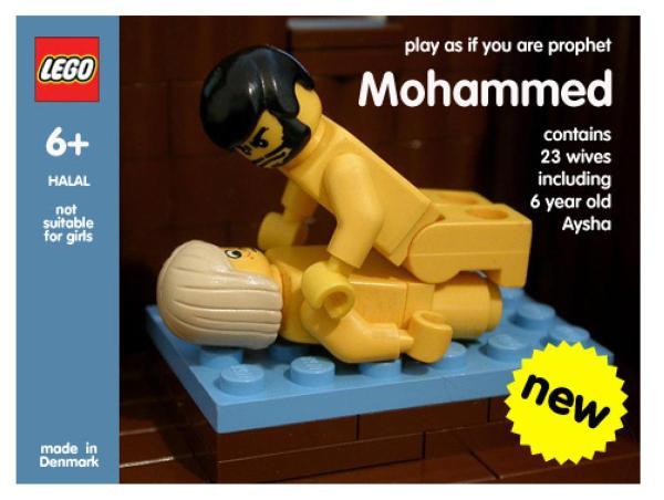 Lego-Mohammed groß