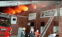 Brandstiftung in Schweden