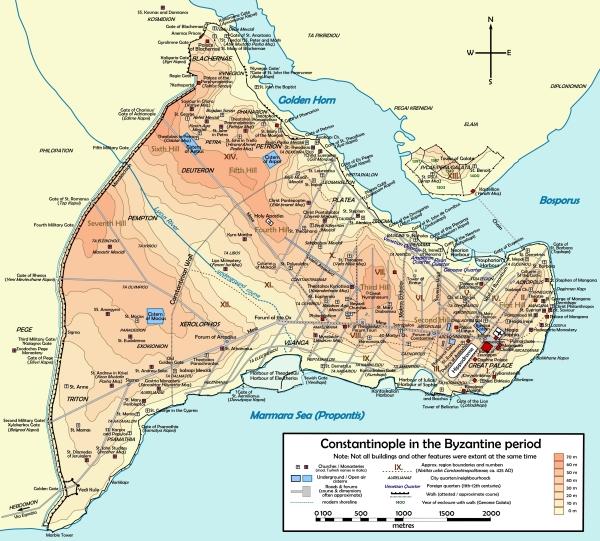 Byzantinisches Konstantinopel