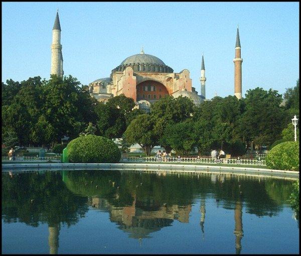 Hagia Sophia Wasserseite