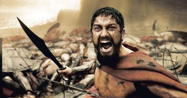 Leonidas in 300