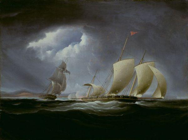 USS Enterprise jagt die Tripoli - von Thomas Birch