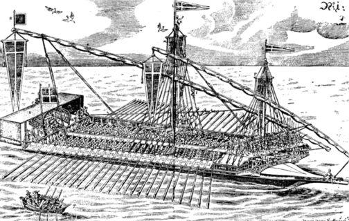 07 osmanische Admiralsgaleere