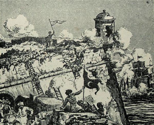 15 Der Fall von Fort Sankt Elmo