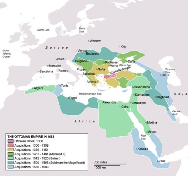 Osmanisches Reich 1683