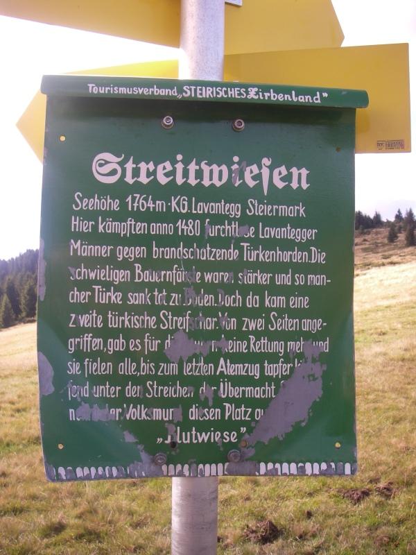 Streitwiesentafel 2010