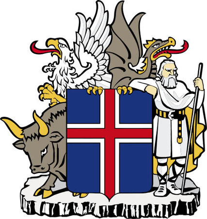 Isländisches Staatswappen