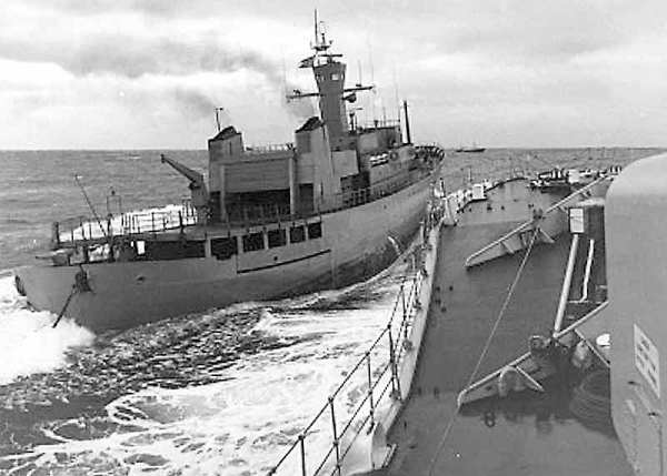 Odin rammt HMS Scylla