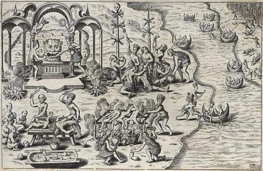 1 - Götzenverehrung und Kannibalismus in Südamerika