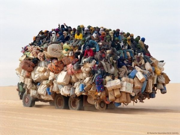 africans truckload