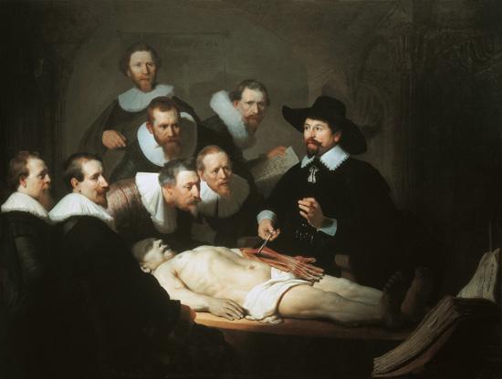 Die Anatomie des Dr Tulp