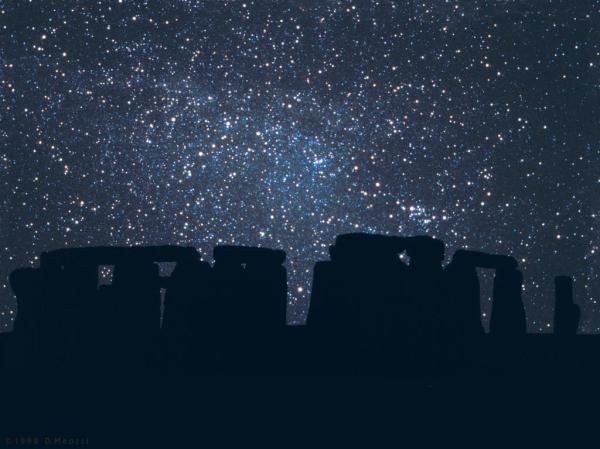 Stonehenge Sternenhimmel