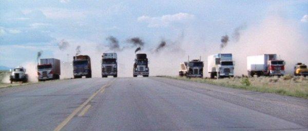 convoy trucks