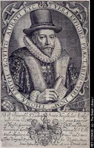 Sir Thomas Smythe, der Begründer der weißen Sklaverei in Amerika und auch der East India Company. [6]