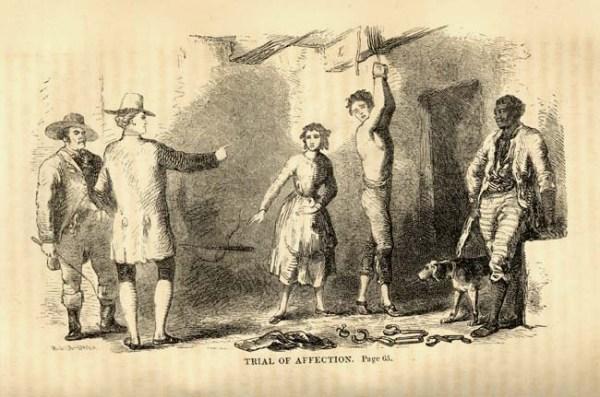 Weißer Sklave, freier Schwarzer war im frühen Amerika nicht unbekannt.