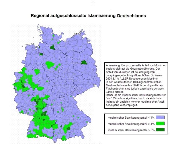 Islamisierung Deutschlands 2004