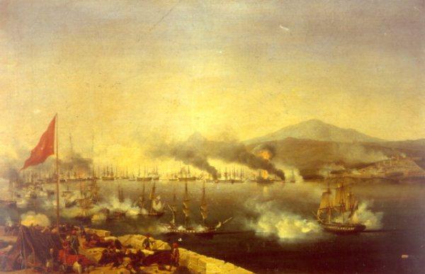 Schlacht von Navarino von Garneray
