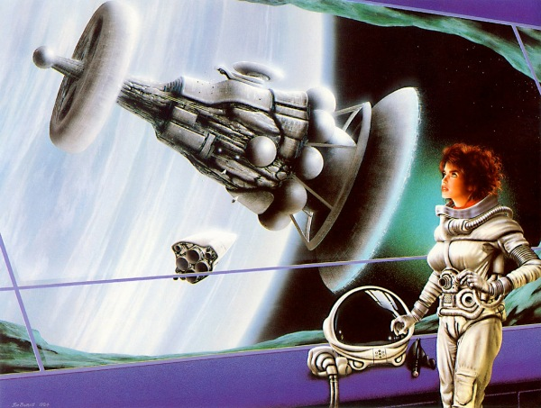 Jim Burns worlds apart