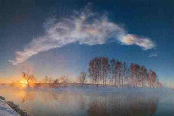 Tscheljabinsk 3 Rauchfahne