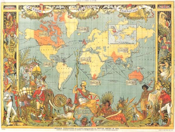Das britische Imperium 1897 – noch immer nicht auf seinem Höhepunkt