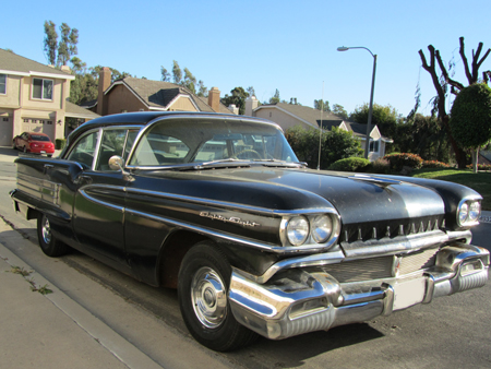 Kevin MacDonald vertieft sich auch in Restaurationsprojekte: Sein 1958er Oldsmobile Eighty-Eight. Warum baut man sie nicht mehr so?