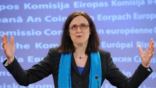Malmstroem Eu-Kommision