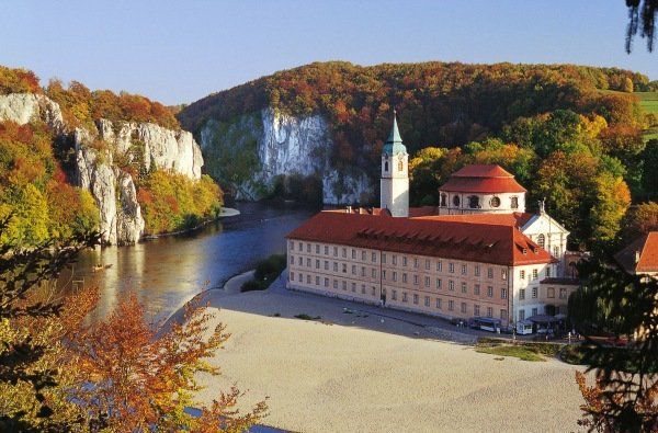 Herbststimmung Kloster Weltenburg