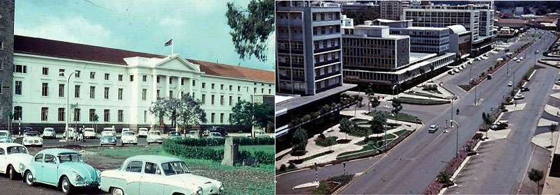 Weitere Szenen aus Nairobi.