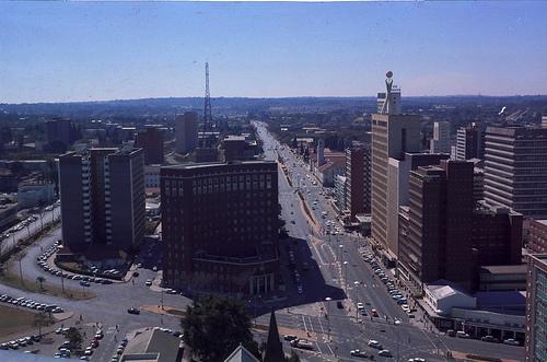 Salisbury, Rhodesien, ca. 1969.