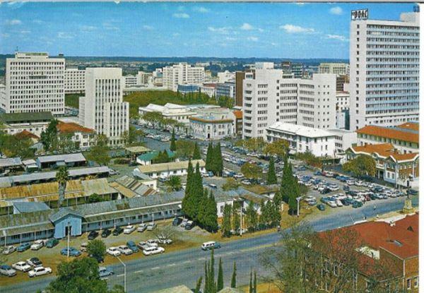 Ein weiteres Bild von Salisbury in den 1960ern.
