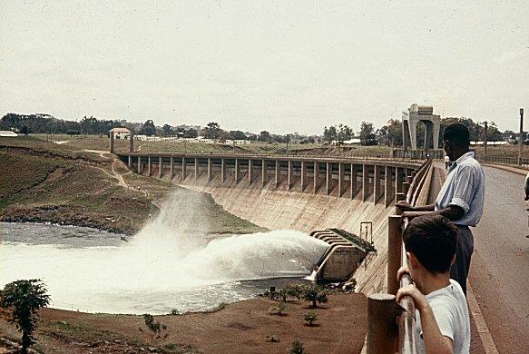 Owan Falls Dam, Jinja, Kenia, 1960.