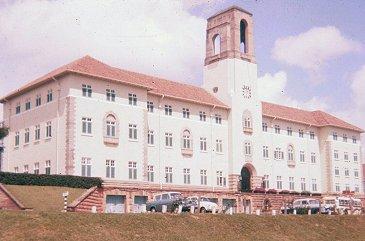 Universität von Makerere, 1962.