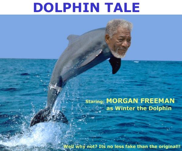 Dolphin Tale Morgan Freeman
