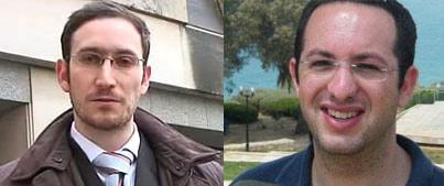 Jonathan Kalmus (links) – Zvika Klein (rechts)