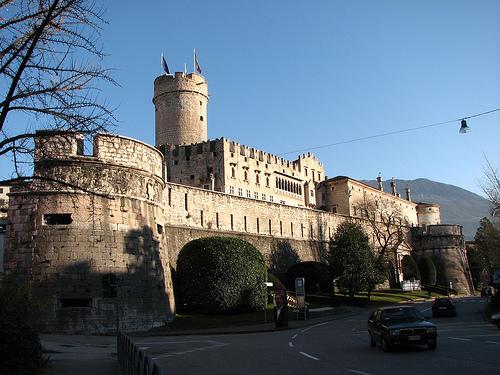 Castello del Buonconsiglio von außen