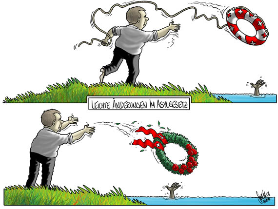 Asylanten - Kranz statt Rettungsring