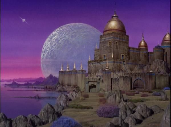 """Planetenlandschaft in """"The Cage"""", später in der Serie wiederverwendet im Zweiteiler """"Talos IV – tabu""""."""
