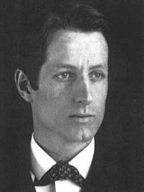 Maxfield Parrish um 1905.