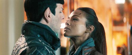 SpockxUhura Star Trek into darkness
