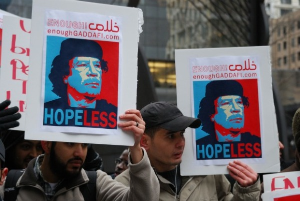 Enough Gaddafi Libya