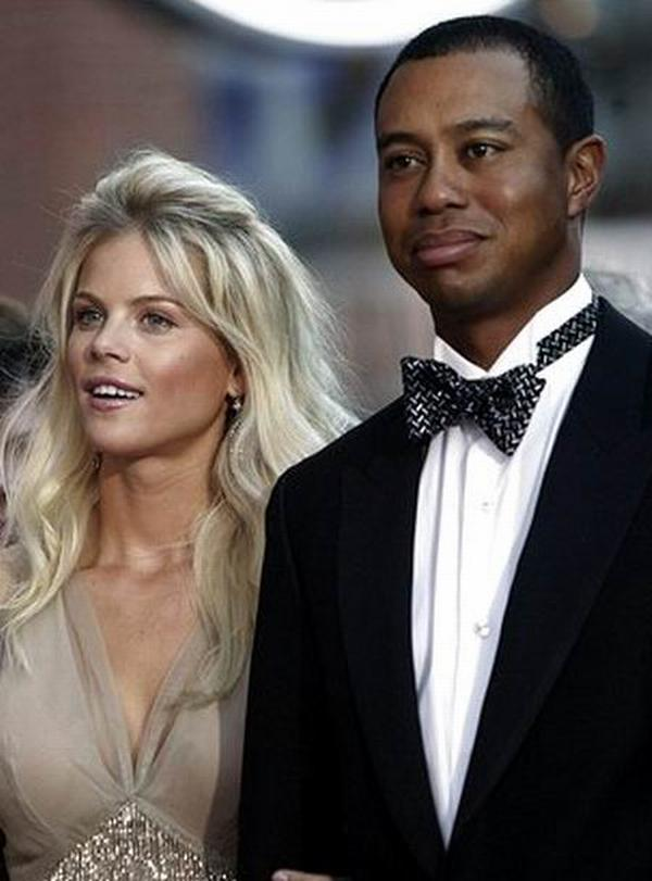 Elin Pernilla Maria Nordegren und Tiger Woods