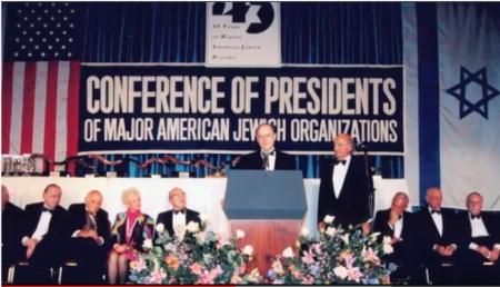 Im Oktober 2013 feierte die Conference of Presidents of Major American Jewish Organizations, in der die rund 50 wichtigsten jüdischen Organisationen der USA vernetzt sind, ihren 50. Geburtstag. Untenstehend ein kurzes Informationsvideo, in dem anlässlich dieser Feierlichkeit die Ziele vorgestellt werden.