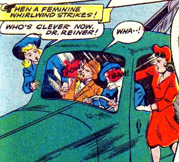 Jill Trent Daisy Dr Reiner 1944