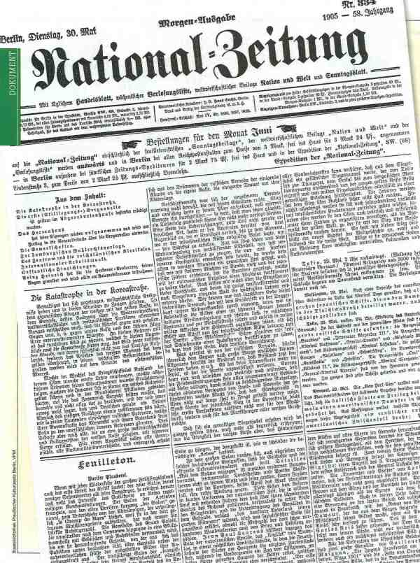 National-Zeitung 30-05-1905