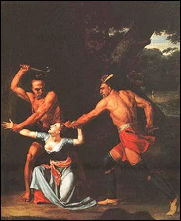 Irokesen skalpieren Jane McCrea