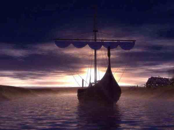 Wikinger-Handelsschiff