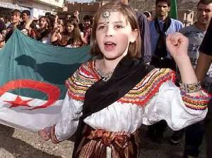 Berbermädchen aus Nordafrika.